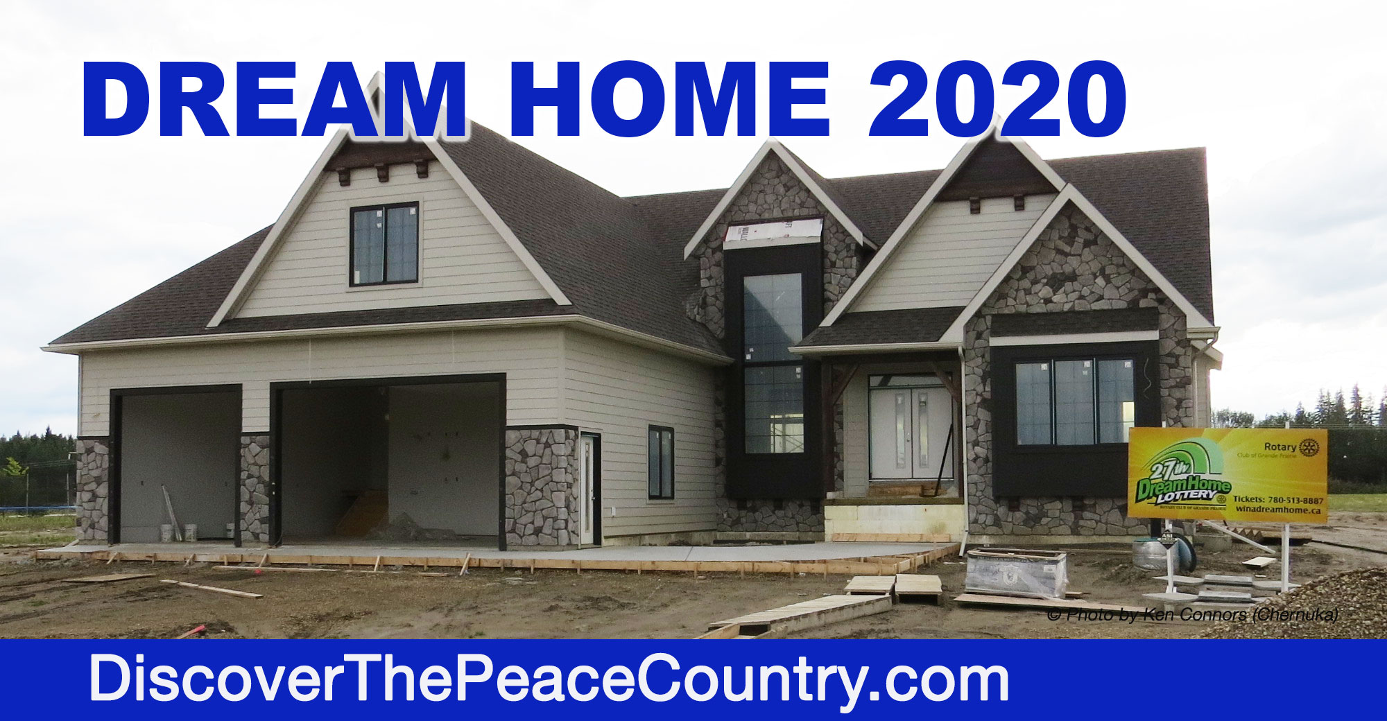 Dream Home 2020.Grande Prairie Dream Home 2020